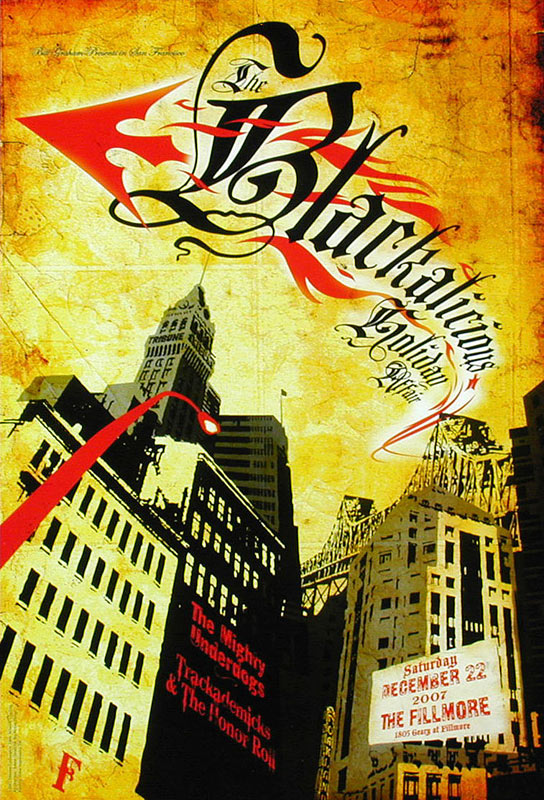 Blackalicious New Fillmore Poster F909
