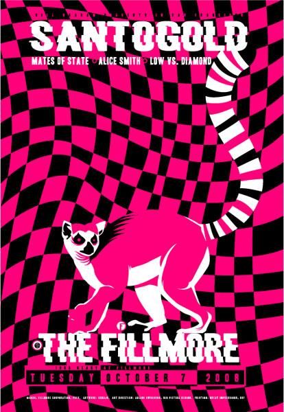 Santogold New Fillmore F972 Poster