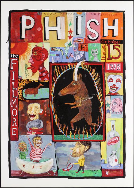 Phish New Fillmore Poster FPhish
