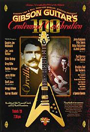 Gregg Allman (Gibson Guitars) New Fillmore F_Gibson Poster