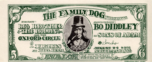 FD # 19-1 Big Brother Family Dog handbill FD19