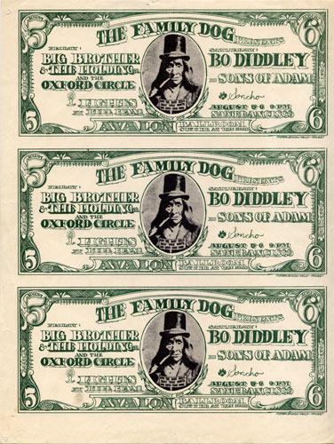 FD # 19-1 Big Brother Family Dog handbill FD19