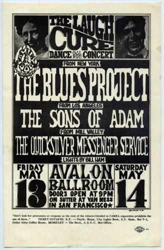 FD # 8-1 Blues Project Family Dog handbill FD8
