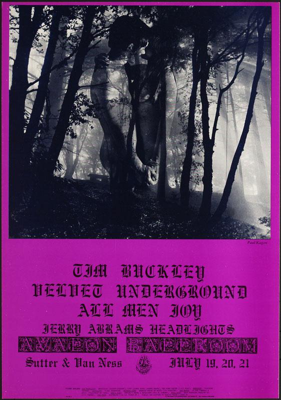 FD # 128-1 Velvet Underground Family Dog Poster FD128