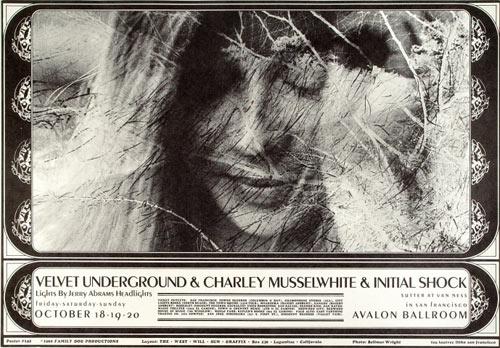 FD # 142-1 Velvet Underground Family Dog Poster FD142