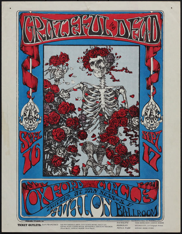 FD # 26-1 Grateful Dead Family Dog handbill FD26