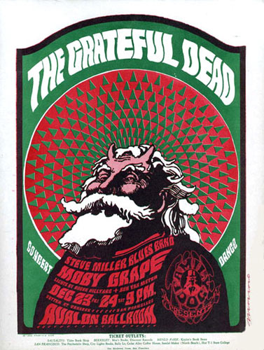FD # 40-1 Grateful Dead Family Dog handbill FD40