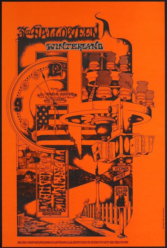 FD # W-1-1 Canned Heat Family Dog Poster FDW-1