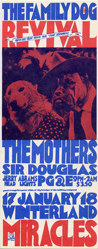 FD # W-2 The Mothers Family Dog postcard - ad back FDW-2