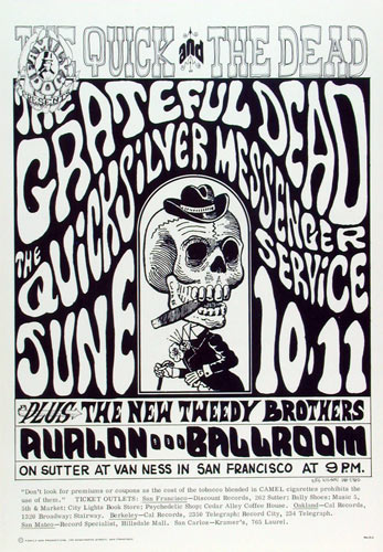 FD # 12-2 Grateful Dead Family Dog Poster FD12