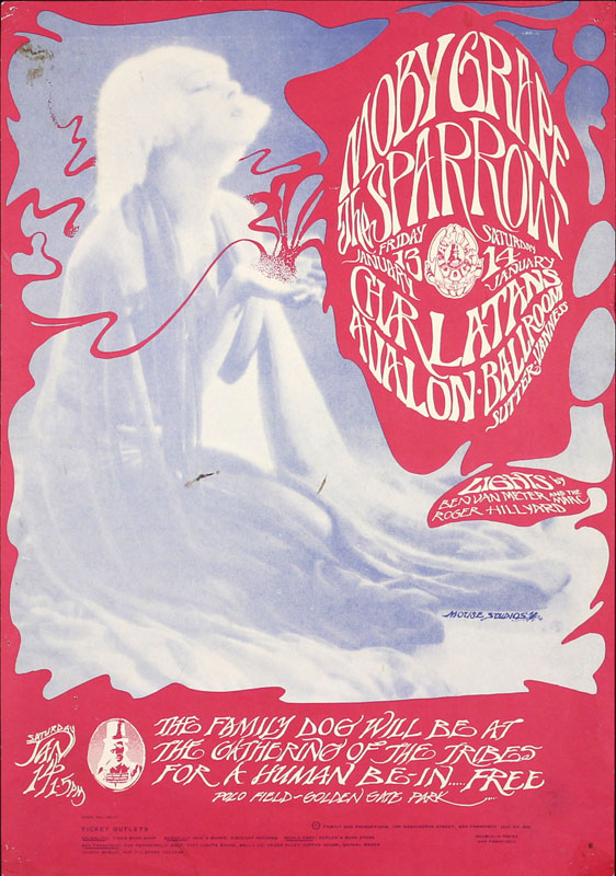 FD # 43-1 Moby Grape Family Dog Poster FD43