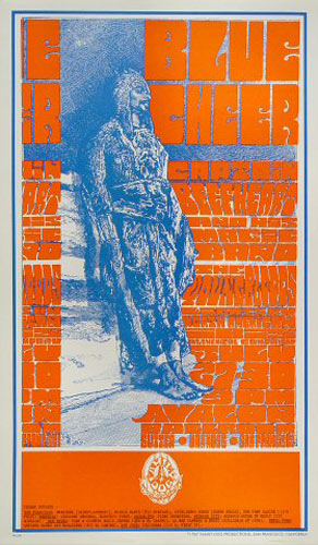FD # 73-1 Blue Cheer Family Dog Poster FD73