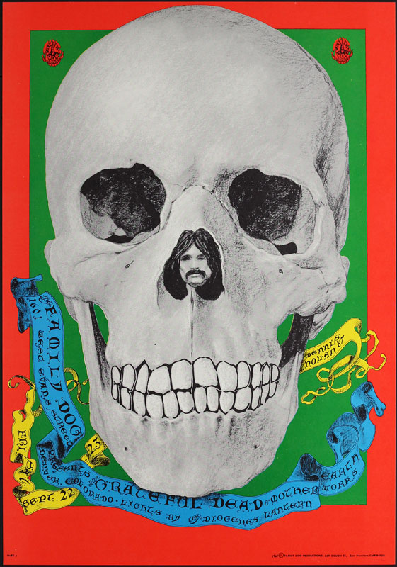 FD # 82-1 Grateful Dead Family Dog Poster FD82