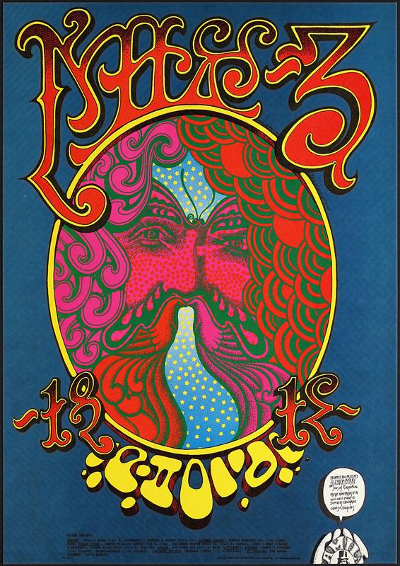 FD # D-12-1 Chuck Berry Family Dog Poster FDD-12