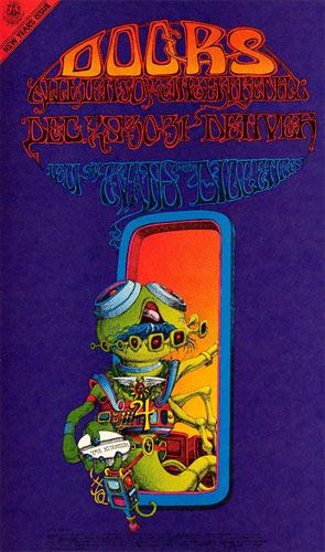 FD # D-18-1 Doors Family Dog Poster FDD-18