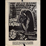FD # 11-1 Grass Roots Family Dog handbill FD11