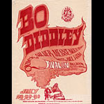 FD # 18-1 Bo Diddley Family Dog handbill FD18