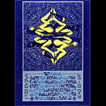 FD # 121 blue Taj Mahal Family Dog postcard - stamp back FD121 blue