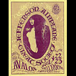 FD # 17-1 Jefferson Airplane Family Dog handbill FD17