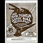 FD # GH700515-1 Big Mama Thornton Family Dog handbill FDGH700515
