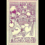 FD # Light Up Flamin' Groovies Family Dog postcard - bulk back FDLight Up