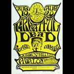 FD # 22-3 Grateful Dead Family Dog Poster FD22