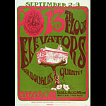 FD # 24-2 13th Floor Elevators Family Dog Poster FD24