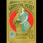FD # 45-2 Grateful Dead Family Dog Poster FD45