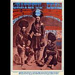 FD # 54 Grateful Dead Family Dog postcard - stamp back FD54