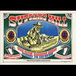 FD # 62 Quicksilver Messenger Service Family Dog postcard - stamp back FD62