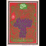 FD # 88 Van Morrison Family Dog postcard - stamp back FD88