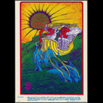 FD # D-14 Canned Heat Family Dog postcard - stamp back FDD-14