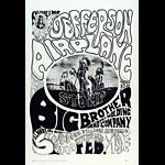 FD # 1-2 Jefferson Airplane Family Dog Poster FD1