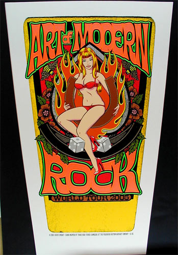 Chuck Sperry - Firehouse Art Of Modern Rock Poster