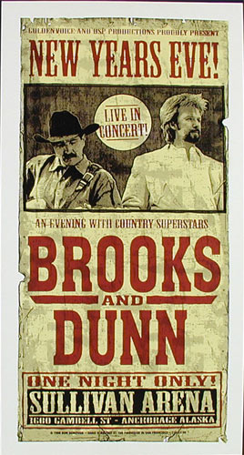 Firehouse Brooks And Dunn Poster