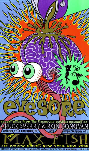 Chuck Sperry - Firehouse Eyesore Poster