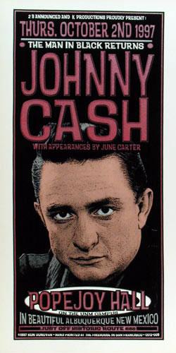 Ron Donovan Johnny Cash Poster