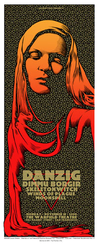 Chuck Sperry - Firehouse Danzig Poster