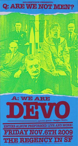 Firehouse Devo Poster