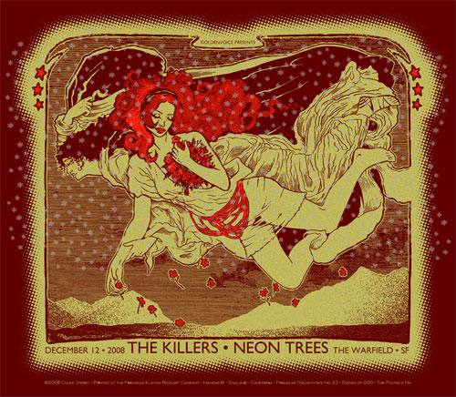 Chuck Sperry The Killers Poster