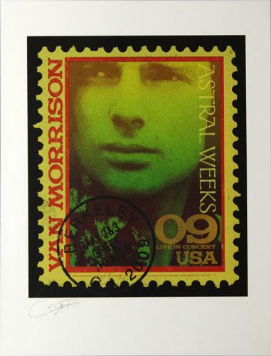 Ron Donovan Van Morrison Astral Weeks Tour Poster