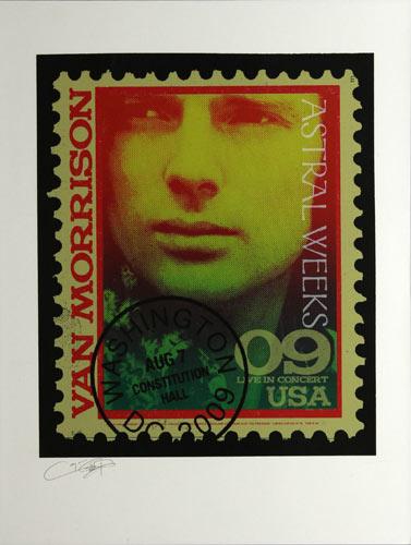 Firehouse Van Morrison Poster