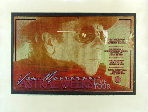 Firehouse Van Morrison Astral Weeks Tour Poster