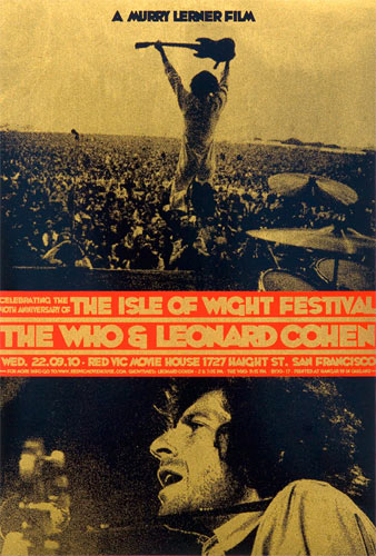 Ron Donovan The Isle of Wight Festival Movie Poster