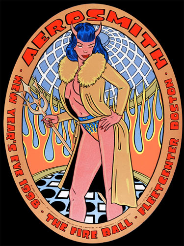 Chuck Sperry - Firehouse Aerosmith Poster