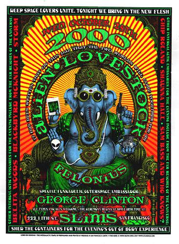 Firehouse Alien Lovestock Poster