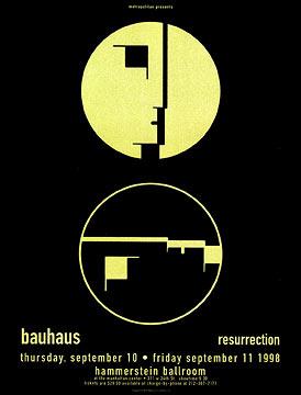 Firehouse Bauhaus Poster