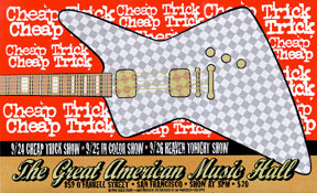 Firehouse Cheap Trick Poster