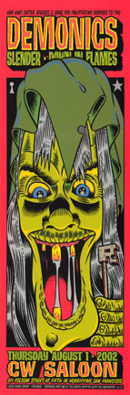 Chuck Sperry - Firehouse Demonics CW Poster
