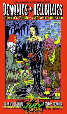 Chuck Sperry - Firehouse Demonics Black Wedding Poster